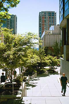 University Street at Benaroya Hall