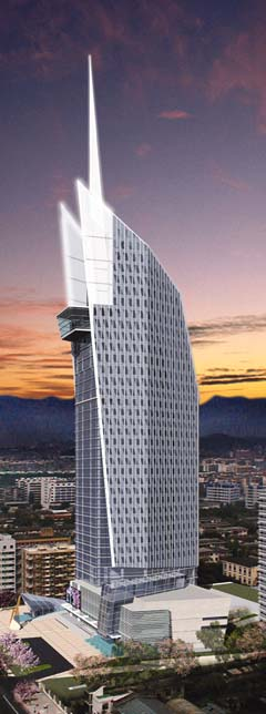 Fujian Provincial Electric and Power Co.'s planned office building
