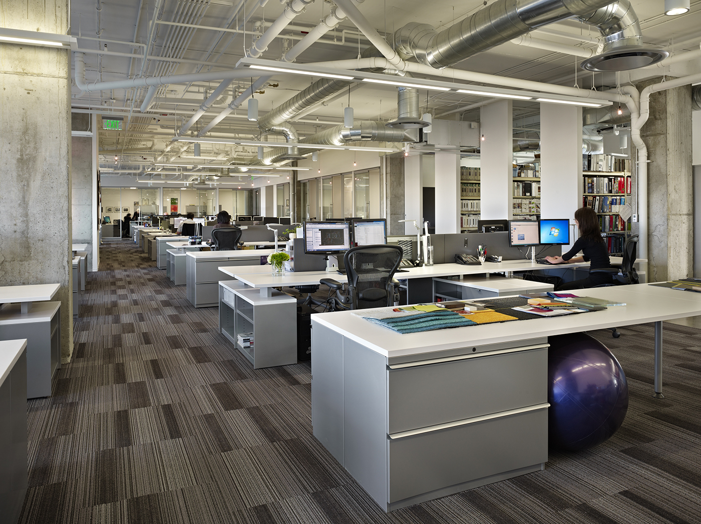 Seattle local business news and data real estate for Office design news