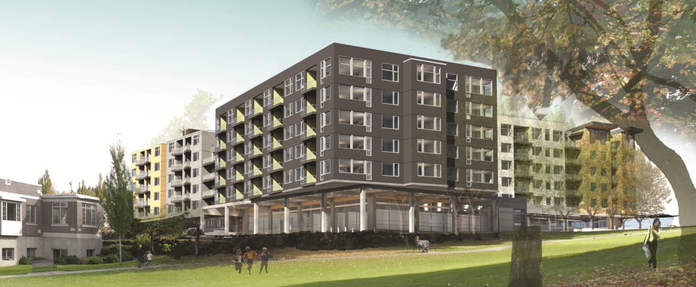 Developers Find Fertile Ground For Apartments In Columbia City
