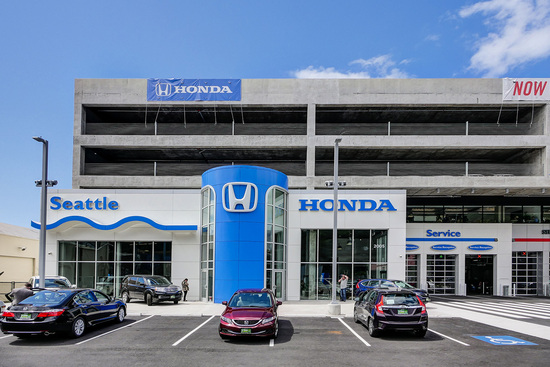 Seattle local business news and data for Honda dealership renton