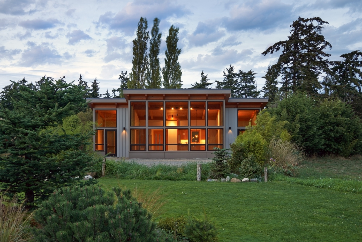 Attractive This Prefab Port Townsend House